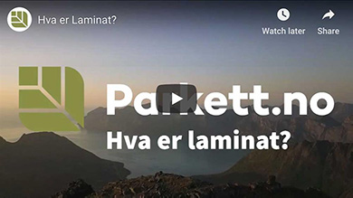 Video om Laminatgulv.