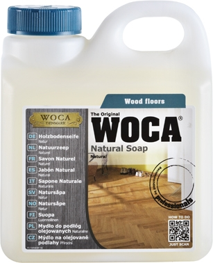 Woca Natural Soap, vakemiddel for parkett.